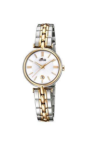 Lotus Watches Womens Analogue Classic Quartz Watch with Stainless Steel Strap 18457/1