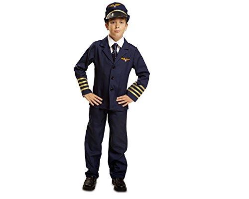 Imagen de my other me  disfraz de piloto para niño, 5 6 años viving costumes 200905
