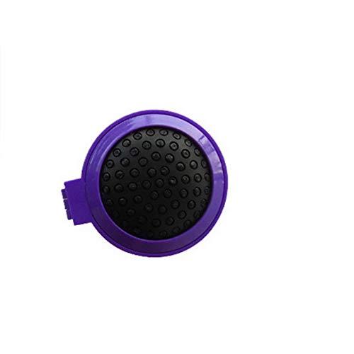 appspiegel lila weiches Haar Schönheitshilfe Perücke Haustier Kopfhaut Kamm ()