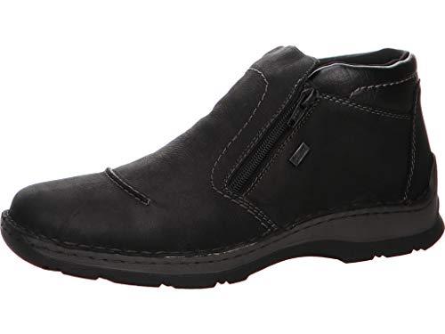 Rieker Herren 05372 Klassische Stiefel, Schwarz (Schwarz/Schwarz 03), 44 EU