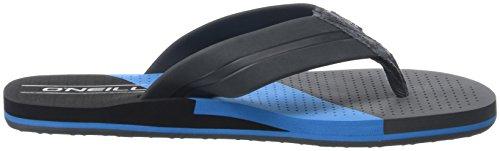 ONeill FM Imprint Punch Flip Flops, Chaussures de Plage et Piscine Homme Bleu (Pure Cyan)