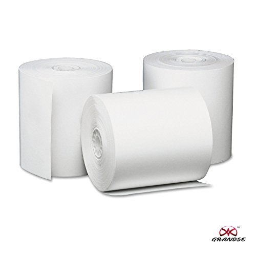 Grandse Thermal Paper Roll 79mm (Width) x 50Mtrs (Length) Pack of 10 Rolls