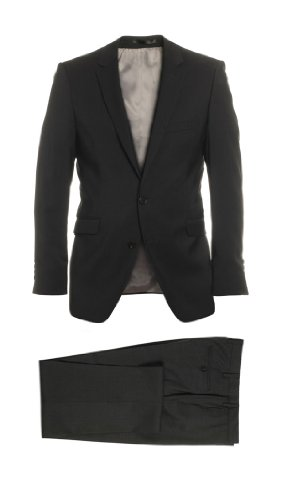 Peter Heintz | Alto tempo divisa in lana vergine duzzl vestito marrone scuro (tuta da uomo) marrone Dunkelbraun