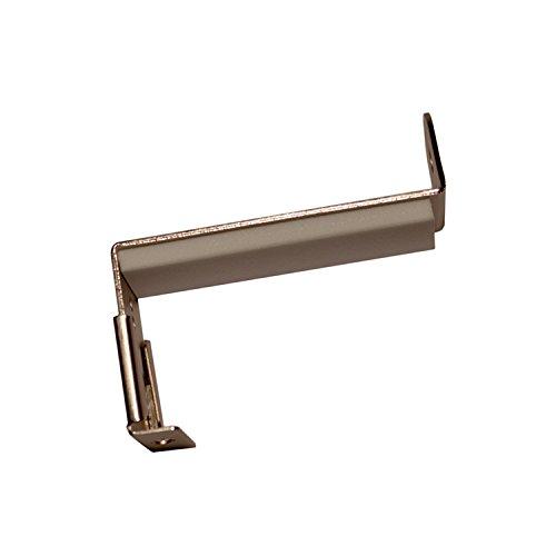 Stylelex Spannfix Gardinenstangen Adapter - für Fensterflügel mit Profilstärke 20-28mm - Adapter für Thermofenster (Weiß)
