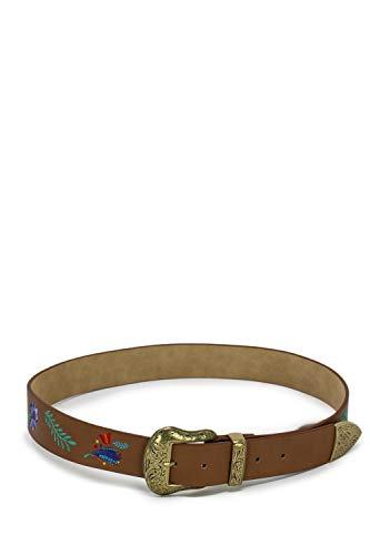 Desigual Cintura donna Belt Mamita 19SARP05 95 cuoio