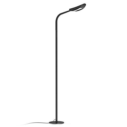 Avantica Stehlampe LED Dimmbar Modern 13W LED Standleuchte( 71 inch ,3000K-3500K Farbtemperaturen,5 Helligkeitsstufen,1850 Lumen,Flexiblem Lampenhals,Touch-Bedienung)Leselampe für Schlafzimmer,Wohnzimmer