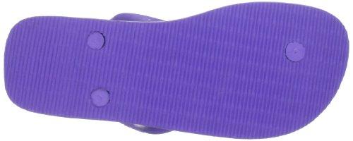 Havaianas Infradito Uomo/Donna Brasil Logo Viola (Violet)