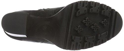Shoot Shoes Sh-216004, Bottes Mi-mollet Avec Rembourrage Léger Femmes Black (schwarz (black Print))
