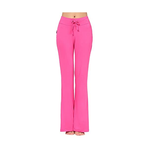 OCHENTA Pantalones Sueltos con Elasticidad Yoga Pants para Mujer ef7d80f47ec8