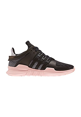 adidas Equipment Support A, Sneakers Basses Femme, Gris Noir (Core Black/trace Grey/ice Purple)
