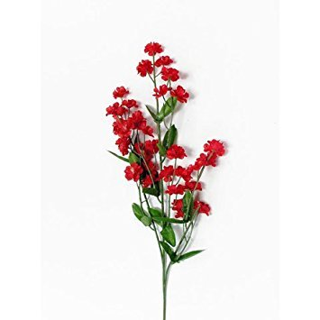 Bulk Buy: Darice DIY Basteln doppelt Gladiolen/Baby 's Breath Spray rot (12 Pieces) ds-104–02