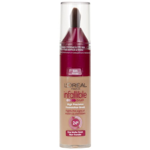 L'Oreal Infallible Precision Foundation Brush Nr. 235 Honey 25ml