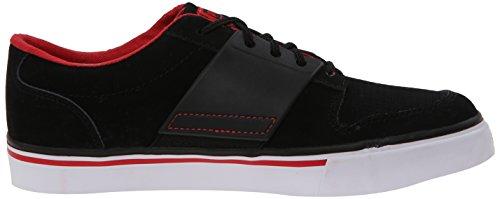 Puma El Ace 2 Nubuck Sneaker (Infant/Toddler/Little Kid) Black/High Risk Red