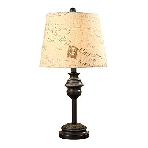 Lampe de table Salon Décor Vintage Bureau Lumière Chambre Lampe De Chevet Étude Européenne Rétro Décoration