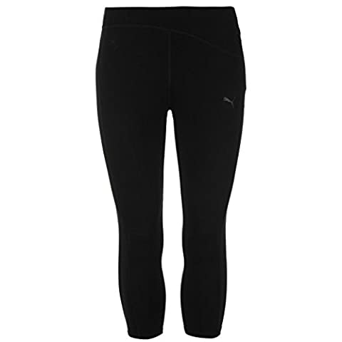 Puma Women Essentials Studio Capri Pants Ladies Black 16 (XL)