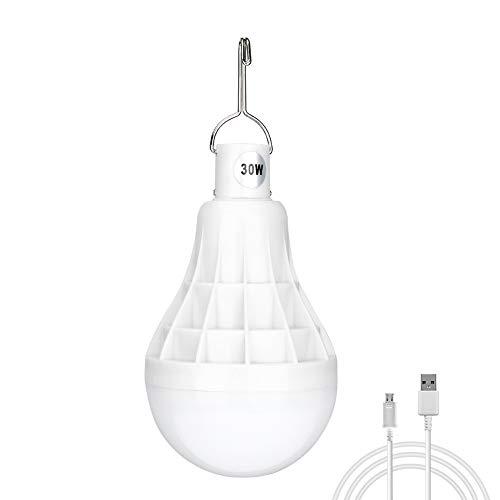 Luz camping regulable LED foco 5 modos iluminación