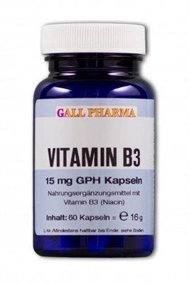 Gall Pharma Vitamin B3 15 mg GPH Kapseln, 180 Stück, 1er Pack (1 x 180 Stück)