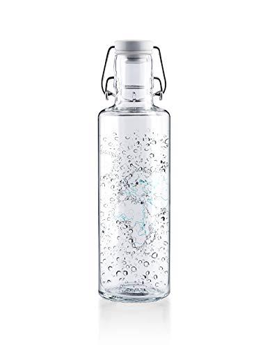Soulbottle Flasche, Glas, Waterworld, 0,6 Liter