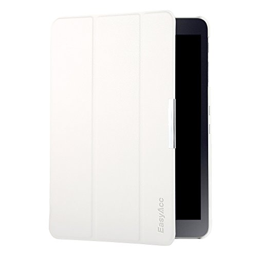 EasyAcc Samsung Galaxy Tab S2 9.7 Hülle Case Tasche mit Standfunktion Auto Wake up Sleep PU Leder Hüllen für Samsung Galaxy S2 T810N  T815N 24,6 cm (9,7 Zoll) Smart - Tablet Weiß