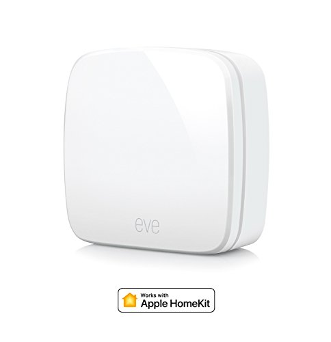 Eve Room - Sensore wireless per interni con tecnologia Apple Homekit, Bluetooth...