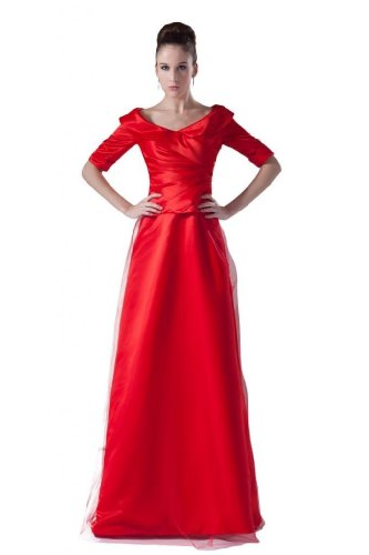 Lemandy - Robe -  Femme Rouge - Rouge