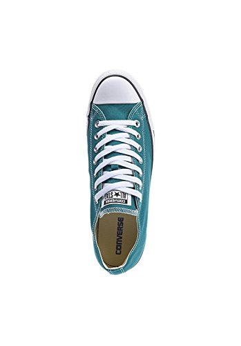 Converse Chuck Taylor All Star C151179, Baskets Basses Mixte Adulte vert/blanc