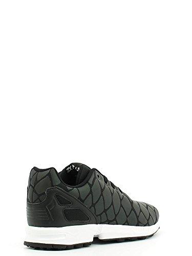 Adidas Originals ZX Flux Xeonpeltis Youth Black Mesh Trainers Schwarz