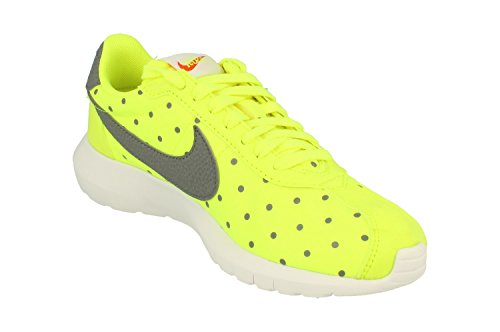 Nike W Roshe Ld-1000 Print, Chaussures de Sport Mixte Adulte Amarillo (Volt / Cool Grey-White-Sfty Orng)
