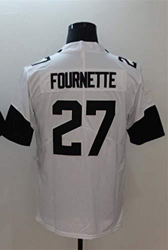 YISUDA NFL Trikot Jacksonville Jaguars 20# 27# Besticktes Fan Edition Rugby Trikot Fußball Trikot Kurzarm Sport Top T-Shirt,E-27,XXL