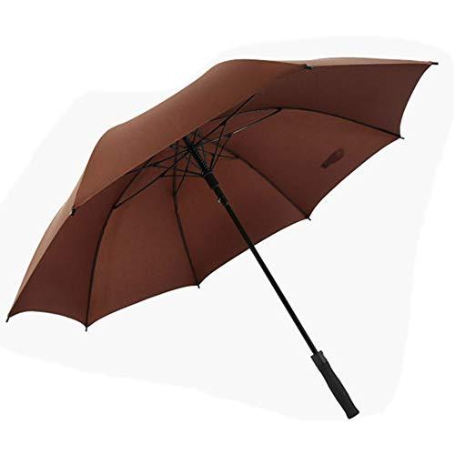 Golf Umbrella Wide Double Canopy Ventilation Automatic Opening Super Large Super Waterproof Sunscreen Regenschutz wetterfest Umbrella Black Red Blue,Brown
