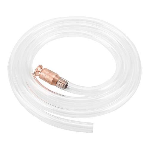 1.8 Meter Röhrensiphon Antistatisch Siphon Rohr PVC Gas/Kraftstoff/Wasser Schlauch für Gas Heizöl Wasser (Kraftstoff-fass)