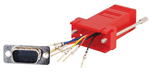 Cables To Go C2G Kabel / RJ45 / DB9F MOD Adptr Red