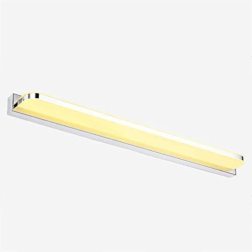 Melden Sie Wand-spiegel (Oevina Mode Geführte Spiegel-Wandlampen, Moderne wasserdichte Acryl-Augenschutz-Beleuchtung-Wandleuchte-Badezimmer-Frisierkommode-Wand-Licht 6W (Color : Warma, Size : 40x9cm))