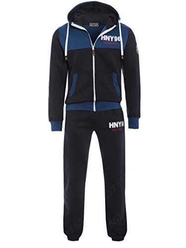 SS7 Jungen Design Trainingsanzug, schwarz, Marineblau, Alter 7 bis 13 Jahre - Marine, 9-10 Jahre/DE 134-140 -