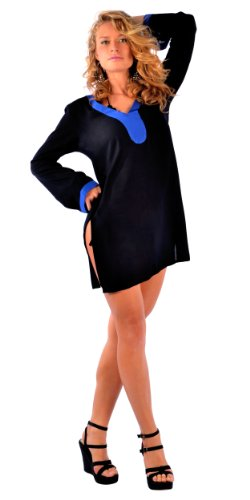 La Fleva - Camicia - Maniche lunghe  -  donna Blu
