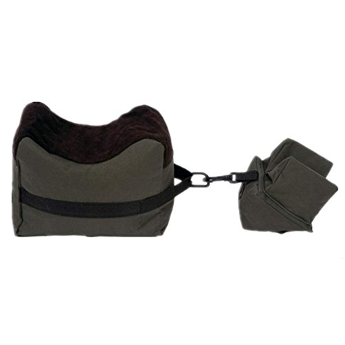 masterein Set von 2Jagd Shooting Unterstützung Paket hinten vorne Sandsack Shooting Rest Tasche, armee-grün -