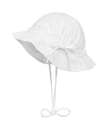 Mädchen-sonnenhut (Döll Mädchen Mütze Sonnenhut 1812023500, Weiß (Bright White 1000), 41)