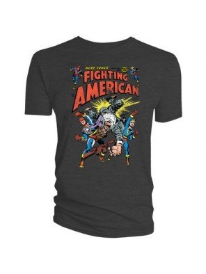 Fighting American T-Shirt Here Comes Fighting American Größe L -