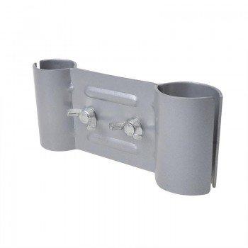 ProPlus 360818 Klemmhalter Klemmhalterung Deichselhalterung Wäschespinnehalterung für Wäschespinne SAT-Schüssel Mast an der Deichsel Stützrad Ø48mm