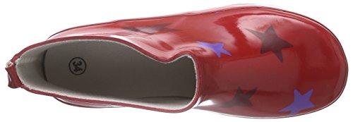Sterntaler Gummistiefel Kira, Bottes en caoutchouc avec doublure intérieure fille Multicolore - Mehrfarbig (rubin 804)