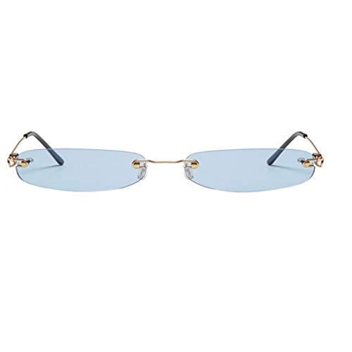 fish Frauen Kleines Rechteck Narrow Tiny Sonnenbrille UV400 Resistent Shades Brillen Farbe Sonnenbrillen