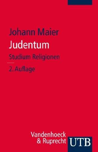 Judentum (Studium Religionen, Band 2886)