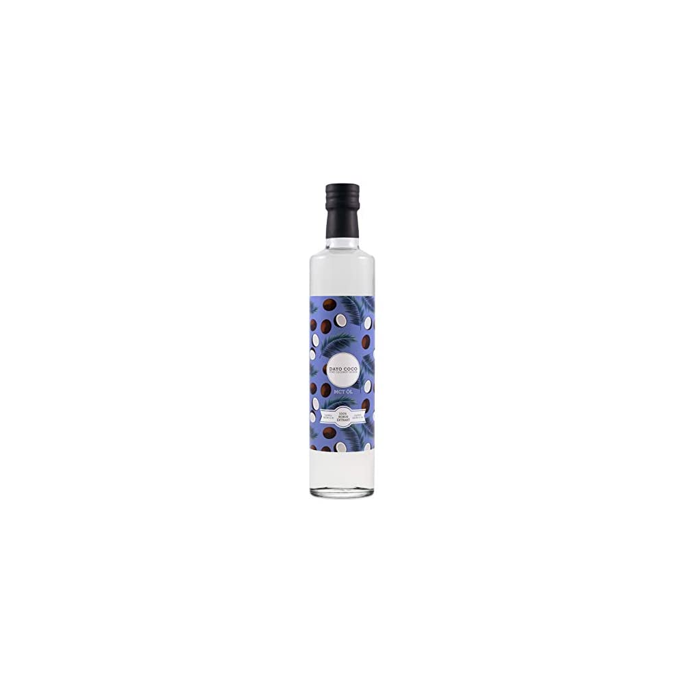 Dayo Coco Premium Mct L 500 Ml C8 Caprylsure C10 Caprinsure 100 Aus Kokosl Bulletproof Coffee Vegan Ketogen Und Low Carb