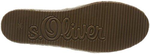 s.Oliver Damen 24208 Espadrilles Beige (Beige)