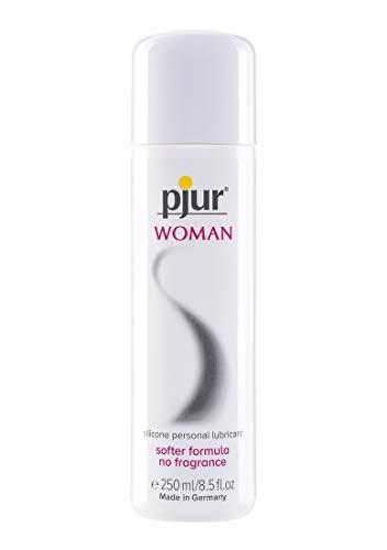 pjur WOMAN - Gleitgel für Frauen auf Silikonbasis - für prickelnden Sex und längeren Spaß - optimal für empfindliche Haut - 1er Pack (1 x 250 ml) -