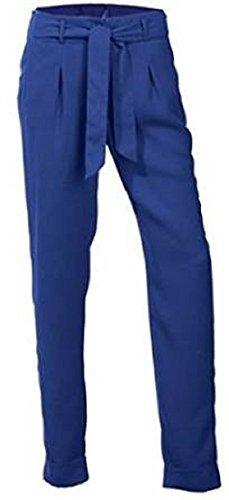 Hose Bundfaltenhose Kurzgröße von BC Blau