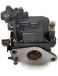 YAMASCO Motor de Barco Carbs carburador Montaje 66M-14301-11 66M-14301-