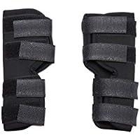 Leggings para perros Cinturón auxiliar, tres tamaños de un par de perros de edad negra, perros discapacitados, mascotas, rodilleras, leggings, perros, cubiertas de lesiones quirúrgicas ( Tamaño : S )