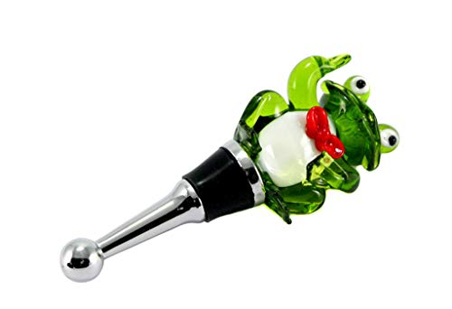 Wein Glas Flaschenaufsatz Mit Silikondichtung Weinflaschen Flaschenverschluss Bar & Wein-accessoires
