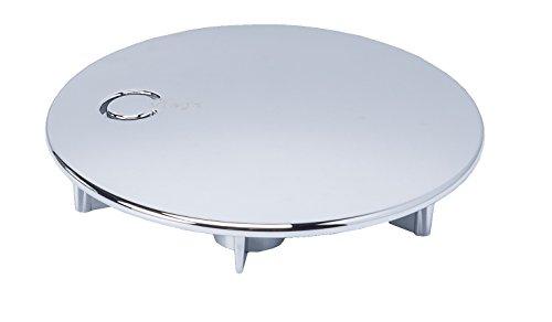 Preisvergleich Produktbild Viega Domoplex Abdeckhaube verchromt Durchmesser 75mm, Modell: 6930.0 passend zu Domoplex 52mm Viega Ablaufgarnitur Senkrecht/Waagerecht